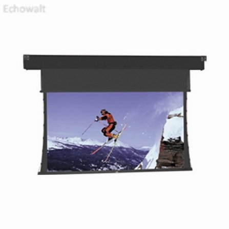 Home Office Classroom Presentation Movie Video Projection Screen Tensioned Horizon Electrol 1.33:1 (NTSC) Native Aspect Ratio Cinema Vision 50