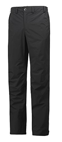 - Helly Hansen Men's Packable Rain Pant, Black, Large