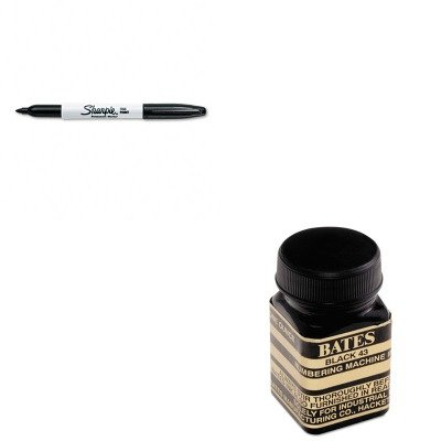 KITAVT9800659SAN30001 - Value Kit - Advantus Refill Ink for Numbering Machines (AVT9800659) and Sharpie Permanent Marker (SAN30001) ()