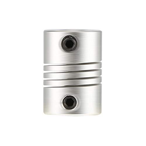 6x6mm CNC Motor Jaw Shaft Coupler 6mm to 6mm Flexible Coupling OD 16x23mm ()