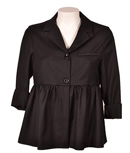 Giacca m Cod Donna Nero Et Size 17080 Beaute Joie 8ExwUqBS