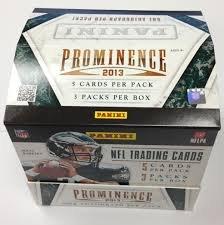 2013 Panini Prominence Football box (3 pk HOBBY)