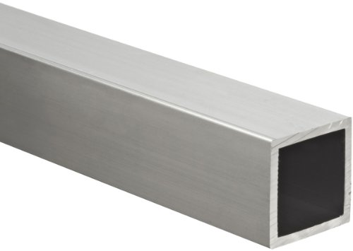Aluminum 6063-T5 Hollow Rectangular Bar, ASTM B221, 1