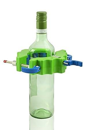 Gadgy ® Maquina Cortador de Botellas de Vidrio Ronda | Glass Cristal Bottle Cutter | Hacer Corta Objetos Decoracion Cristaleria Portavelas Candelabros ...