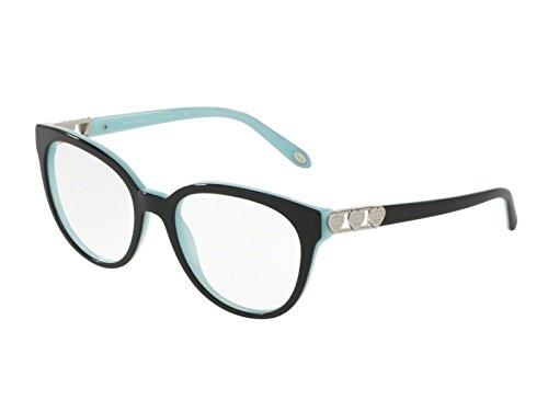 TIFFANY TF2145 8055 OCCHIALE DA VISTA NERO BLACK EYEGLASSES SEHBRILLE DONNA - Eyeglasses 8055 Tiffany