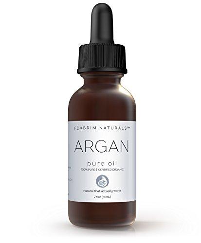 Foxbrim 100% Pure Organic Argan Oil for Hair, Skin & Nails, 2 fl. oz. by Foxbrim Naturals (Image #1)