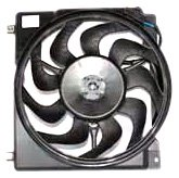 TYC 620550 Jeep Cherokee Replacement Radiator/Condenser Cooling Fan Assembly