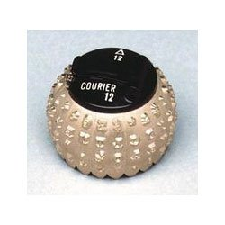 LEX1167138 - Letter Gothic 12-Pitch IBM Selectric Type Element