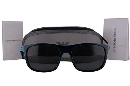 Emporio Armani EA4085 Sunglasses Top Green On Petroleum w/Gray Lens 555487 EA - Armani On Sale