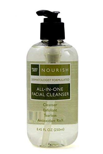 Trader Joe's Nourish All-in-one-facial Cleanser