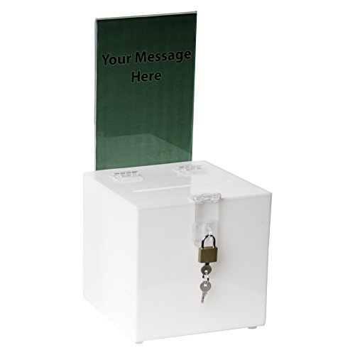 clear-ad-sbb-66-h-wht-acrylic-ballot-box-with-lock-and-sign-holder-best-for-voting-charity-donation-