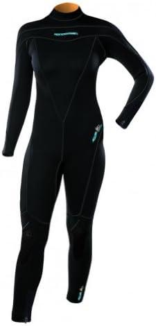 3mm Henderson Womens Aqua Lock Full Suit Scuba Diving Wetsuit for Temperate Water Aqualoc