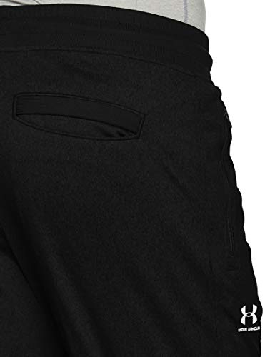 Under Armour Men's Sportstyle Jogger Pants, Black /White, XXX-Large Tall by Under Armour (Image #7)