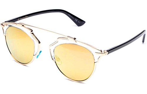 Dior Sunglasses (Dior So Real Sunglasses 48mm Gold U5SK1)
