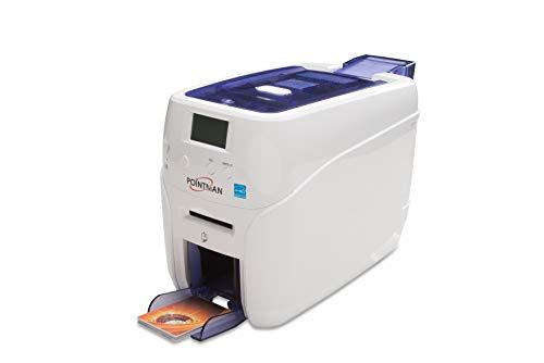 Pointman Nuvia N20 Dual Side ID Card Printer with Magnetic Stripe encoding