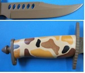 FROST CUTLERY (Frost Cutlery) Little Crocodile Boy dessert camouflage handle