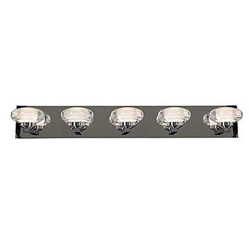 Access Lighting 63975LED-CH/ACR Optix LED 36-Inch Width Vanity with Acrylic Lens, Chrome from Access Lighting - HI