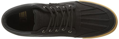 Lugz Mens Boomer Fashion Sneaker Black/Gum TNII7