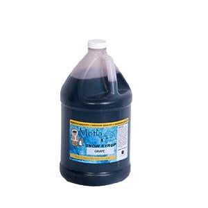 Paragon Motla Premium Sno-Cone and Shaved Ice Syrup, Grape, Gallon