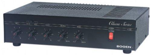 Amplifier Plus Series Pro - Bogen C100 Classic Series 100-Watt Public Address Amplifier