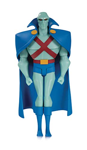DC Collectibles Justice League Animated: Martian Manhunter Action Figure, Multicolor
