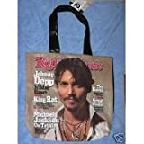 Rolling Stone Magazine tote – Johnny Depp, Bags Central