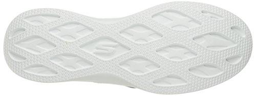 Skechers Womens Go Step Lite-scarpa Da Trekking Senza Sforzo Nero / Bianco