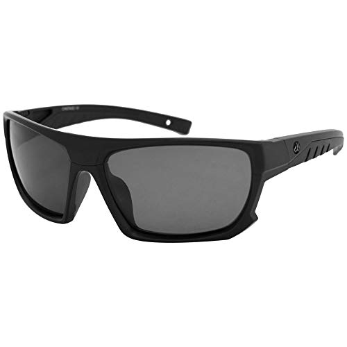 Filthy Anglers Castaic Men's Sports Fishing Sunglasses Black Polarized Lenses Running ()