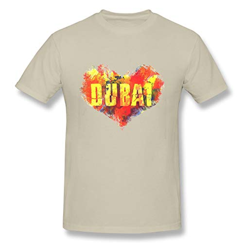 Men's Short Sleeve T-Shirt Dubai Art Street Graphic Style Dubai Stylish Print t
