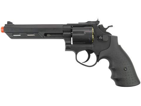 (350 FPS HFC 357 MAGNUM GREEN GAS METAL AIRSOFT REVOLVER PISTOL GUN BB BBs Shells)