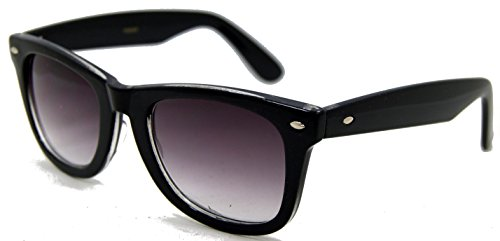 In Style Eyes EyeCool, Classic Wayfarer Full Reader Sunglasses. Includes Case and Cleaning Cloth/Black/2.00 Strength by In Style Eyes