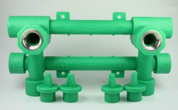 PPR Aqua de Plus unidad de montaje 20 mm con 1/2 pulgadas Conector,