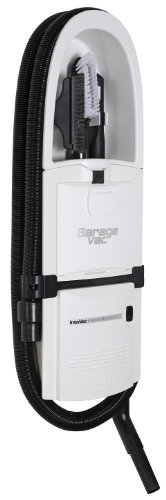 GarageVac GH120-W White Surface Mounted Vacuum Cleaner by GarageVac
