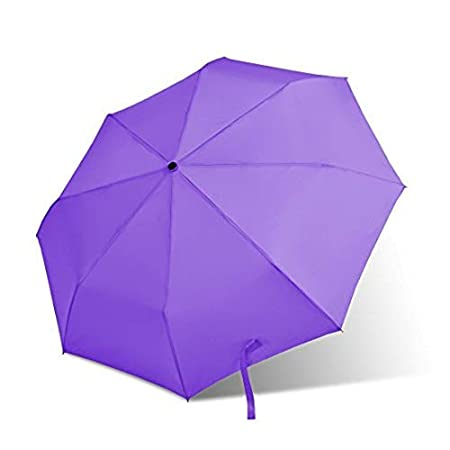 NA The Dark Blue Background Of Leaves Automatic Tri-fold Umbrella Outer Print One Size
