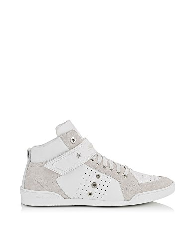 JIMMY-CHOO-MENS-LEWISOCUSPORTCALFSUEDEWHITE-WHITE-LEATHER-HI-TOP-SNEAKERS