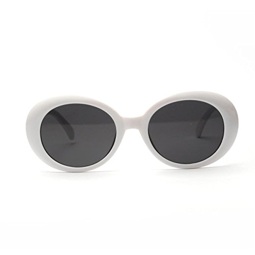 Des Femmes Lunettes RéTro Vintage De Mode Blanc Hommes Rondes Lunettes Arrondi Cadre Soleil Les Fq0HqwY4