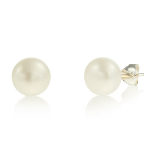 Sterling Silver Freshwater Cultured Earrings