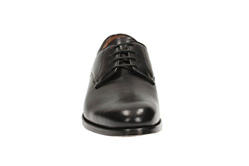 Clarks  Coling Walk, Chaussures de ville à lacets pour homme Noir noir
