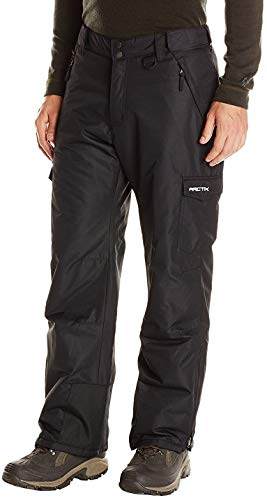 Arctix Men's Men's Snow Sports Cargo Pants, Black, X-Large/Short ()