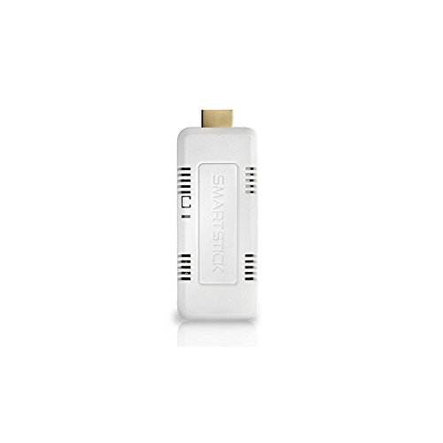 SmartStick Android Mini PC 1GB RAM, 8GB Storage, Dual Core Processor - US Version (Includes Warranty) - White (SSV2APC) by SmartStick