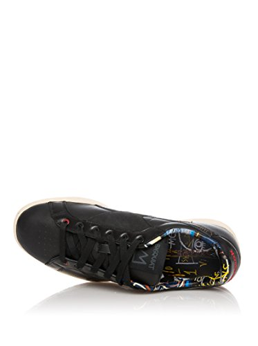 REEBOK Zapatillas Npc Uk Basquiat Negro / Rojo EU 42 (US 9)