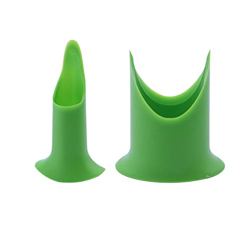 BESTOMZ Pepper Corers Twist to Core Seed Bell Chili 2pcs (Green)