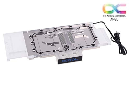 Alphacool 11682 Eisblock GPX-N Plexi Light Nvidia Geforce RTX 2080/2080Ti M02 - incl. Backplate Water Cooling GPU - Water Blocks