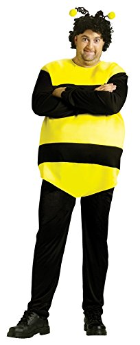 Saturday Night Live Killer Bee Outfit Funny Theme Halloween Fancy Costume, OS -