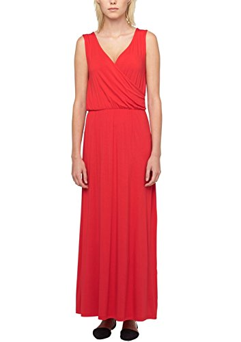 s.Oliver Viskose 14.506.81.8127 - Vestido Mujer Rot (glaring red 3100)