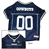 Dallas Cowboys Dog Jersey – Extra Small Size, My Pet Supplies