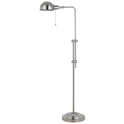 58-Inch Rustic Adjustable Pharmacy Floor Lamp with Pull-Chain Switch for Reading Corner (58 Tall Floor Lamp)
