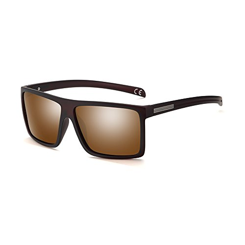 2020Ventiventi Classic Polarized Sunglasses for Men Square Lens Full Frame PL273-PL278