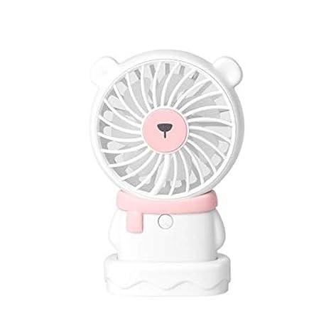 QQY Mini Ventilador de Mesa de Mano Lindo Oso Polar, pingüinario ...