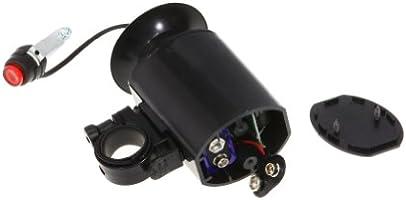 Claxon electrónico para bicicleta (con altavoz, 6 tonos), color ...